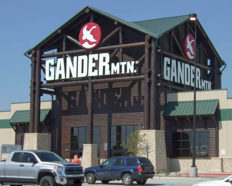 gander mountain log entry tower